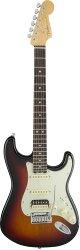 FENDER American Elite Stratocaster® HSS Shawbucker, Rosewood Fingerboard, 3-Color Sunburst